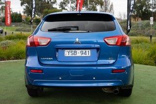2011 Mitsubishi Lancer CJ MY11 VR Sportback Blue 5 Speed Manual Hatchback