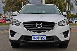 2016 Mazda CX-5 KE1032 Maxx SKYACTIV-Drive AWD White 6 Speed Sports Automatic Wagon.