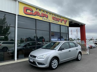 2007 Ford Focus LS CL Silver 5 Speed Manual Hatchback.