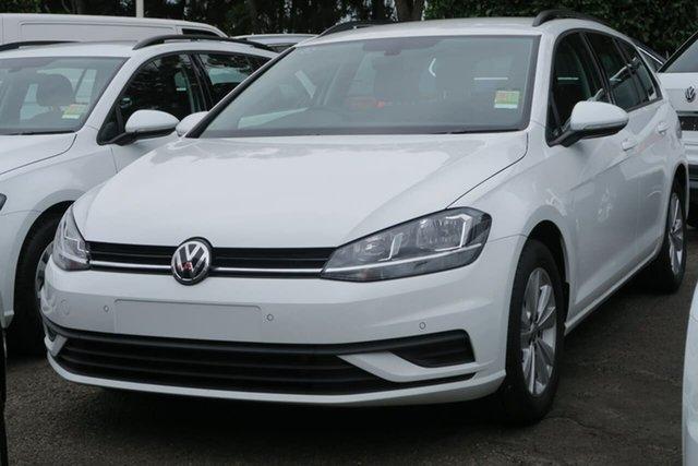 Demo Volkswagen Golf 7.5 MY20 110TSI DSG Trendline, 2020 Volkswagen Golf 7.5 MY20 110TSI DSG Trendline White 7 Speed Sports Automatic Dual Clutch Wagon