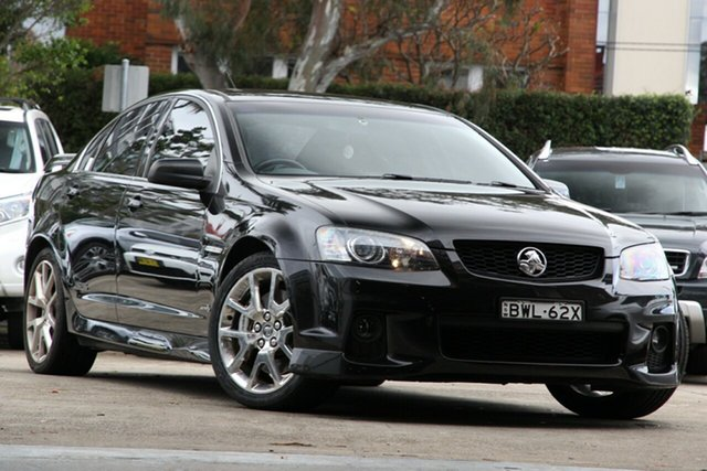 Used Holden Commodore VE II SS V, 2011 Holden Commodore VE II SS V Black 6 Speed Sports Automatic Sedan
