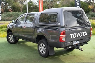 2011 Toyota Hilux KUN26R MY12 Workmate Double Cab Grey 4 Speed Automatic Utility