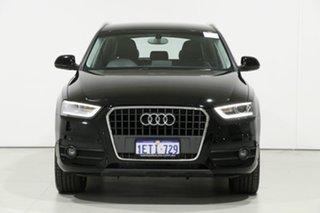 2015 Audi Q3 8U MY15 2.0 TDI Quattro (110kW) Black 7 Speed Auto Dual Clutch Wagon.