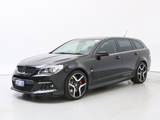 2013 Holden Special Vehicles ClubSport Gen F R8 Tourer Black 6 Speed Auto Active Sequential Wagon