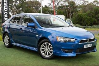 2011 Mitsubishi Lancer CJ MY11 VR Sportback Blue 5 Speed Manual Hatchback.