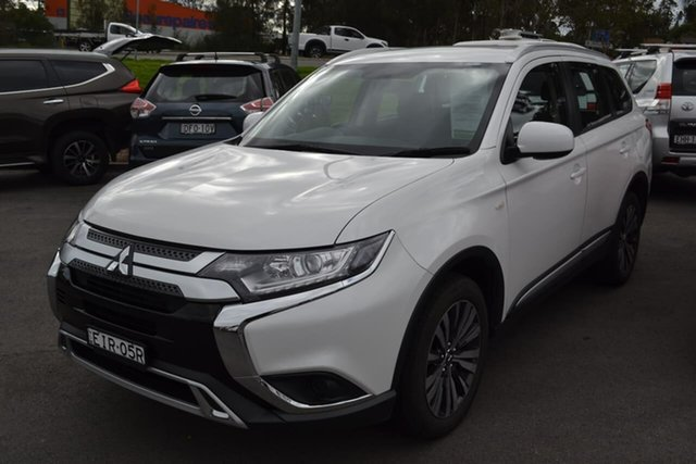 Used Mitsubishi Outlander ZL MY19 ES AWD, 2019 Mitsubishi Outlander ZL MY19 ES AWD White 6 Speed Wagon