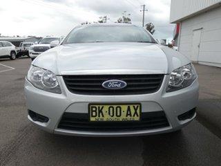 2011 Ford Falcon FG MkII XT Silver 6 Speed Sports Automatic Sedan.