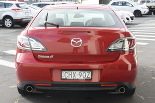 2012 Mazda 6 GH1052 MY12 Touring Red 5 Speed Sports Automatic Sedan
