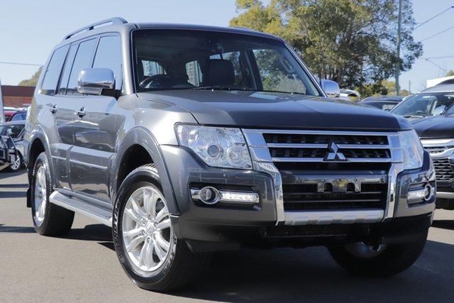 Used Mitsubishi Pajero NX MY18 Exceed, 2018 Mitsubishi Pajero NX MY18 Exceed Grey 5 Speed Sports Automatic Wagon