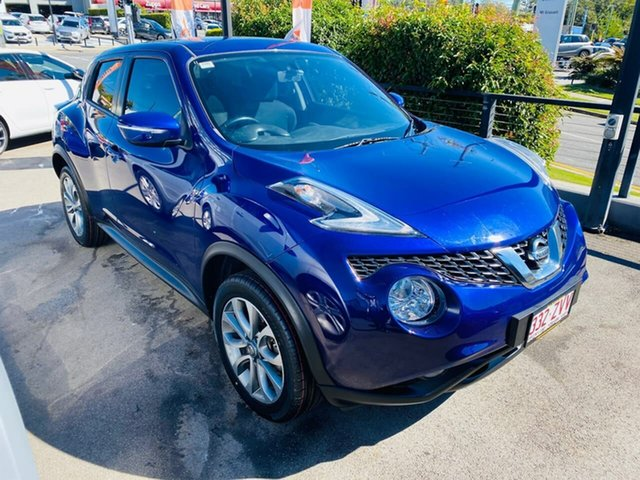 Used Nissan Juke F15 Series 2 ST X-tronic 2WD, 2015 Nissan Juke F15 Series 2 ST X-tronic 2WD Blue 1 Speed Constant Variable Hatchback