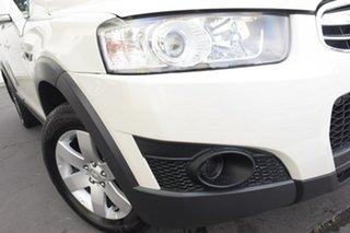 2012 Holden Captiva CG Series II 7 SX White 6 Speed Sports Automatic Wagon.