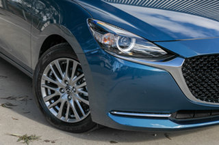 2020 Mazda 2 DJ2HAA G15 SKYACTIV-Drive Evolve Eternal Blue 6 Speed Sports Automatic Hatchback.