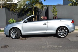 2007 Volkswagen EOS 1F MY08 FSI DSG Silver 6 Speed Sports Automatic Dual Clutch Convertible.