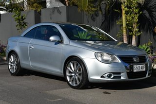 2007 Volkswagen EOS 1F MY08 FSI DSG Silver 6 Speed Sports Automatic Dual Clutch Convertible