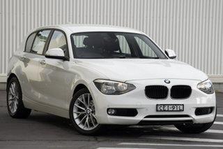 2011 BMW 1 Series F20 116i White 8 Speed Sports Automatic Hatchback.