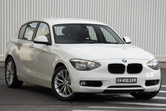 Used BMW 116i F20 116i, 2011 BMW 116i F20 116i White 8 Speed Sports Automatic Hatchback