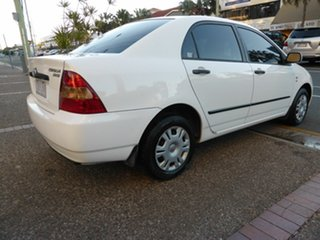 2002 Toyota Corolla ZZE122R Ascent White 4 Speed Automatic Sedan