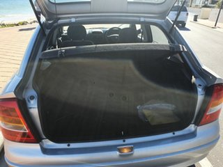 2002 Holden Astra TS MY03 City Silver 5 Speed Manual Hatchback