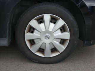 2007 Nissan Tiida C11 MY07 ST Black 4 Speed Automatic Hatchback