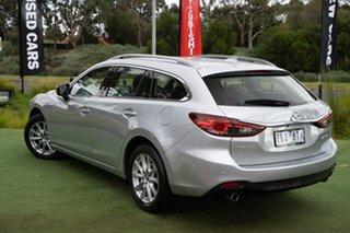 2017 Mazda 6 GL1031 Sport SKYACTIV-Drive Silver 6 Speed Sports Automatic Wagon.