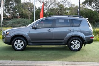 2012 Mitsubishi Outlander ZH MY12 LS Grey 6 Speed Constant Variable Wagon
