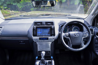 2020 Toyota Landcruiser Prado Black Automatic.