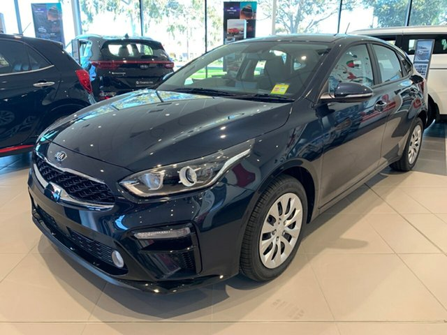 Demo Kia Cerato BD MY20 S Cheltenham, 2020 Kia Cerato BD MY20 S Gravity Blue 6 Speed Sports Automatic Hatchback