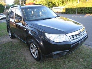 2012 Subaru Forester MY12 X Grey 4 Speed Auto Elec Sportshift Wagon