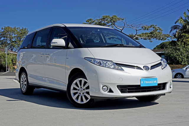 Used Toyota Tarago ACR50R MY13 GLi, 2015 Toyota Tarago ACR50R MY13 GLi White 7 Speed Constant Variable Wagon