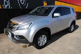 2014 Isuzu MU-X MY14 LS-M Rev-Tronic 4x2 Silky Silver 5 Speed Sports Automatic Wagon