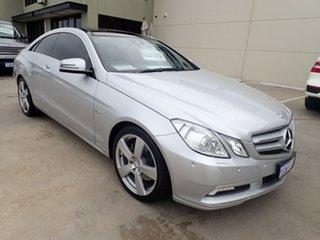 2010 Mercedes-Benz E-Class C207 E250 CDI BlueEFFICIENCY Avantgarde Silver 5 Speed Sports Automatic.