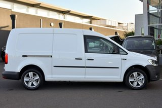 2020 Volkswagen Caddy 2KN MY20 TSI220 Maxi DSG Urban Edition White 7 Speed.