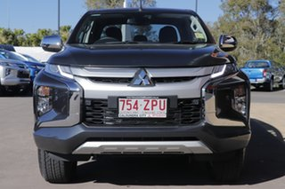 2019 Mitsubishi Triton MR MY19 GLS Double Cab Graphite Grey 6 Speed Sports Automatic Utility.