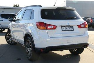 2016 Mitsubishi ASX XB MY15.5 LS (2WD) White Automatic Wagon.