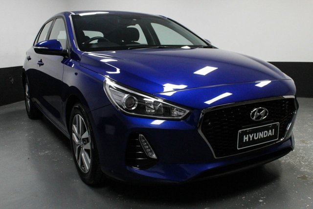 Used Hyundai i30 PD MY18 Active, 2018 Hyundai i30 PD MY18 Active Blue 6 Speed Sports Automatic Hatchback