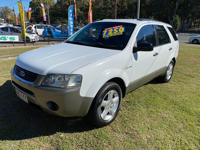 Used Ford Territory SY TS AWD, 2005 Ford Territory SY TS AWD White 6 Speed Sports Automatic Wagon