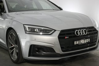 2018 Audi S5 F5 MY18 Sportback Tiptronic Quattro Florett Silver 8 Speed Sports Automatic Hatchback.