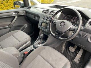 2016 Volkswagen Caddy 2K MY16 TSI220 Maxi DSG Trendline Silver 7 Speed Sports Automatic Dual Clutch