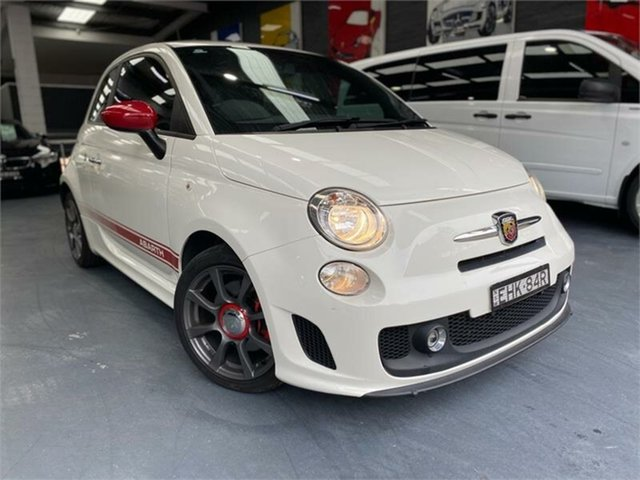 Used Abarth 595 Series 3 , 2016 Abarth 595 Series 3 White Sports Automatic Single Clutch Hatchback