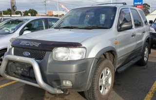 2003 Ford Escape ZA XLT Silver 4 Speed Automatic Wagon.