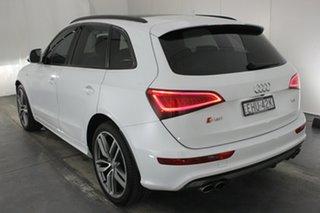 2016 Audi SQ5 8R MY17 TDI Tiptronic Quattro Glacier White 8 Speed Sports Automatic Wagon