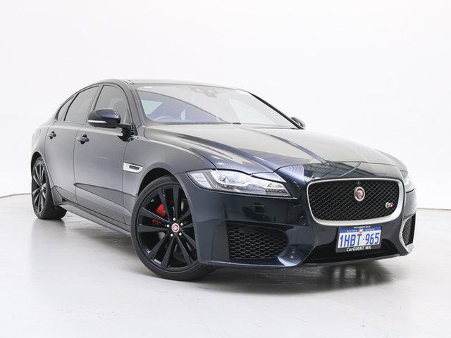 Used Jaguar XF X260 35t S, 2016 Jaguar XF X260 35t S Black 8 Speed Automatic Sedan
