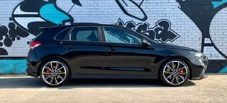 2020 Hyundai i30 PDe.3 MY20 N Performance Lux S.Roof Phantom Black 6 Speed Manual Hatchback.