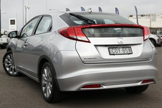 2013 Honda Civic 9th Gen MY13 VTi-L Silver 5 Speed Sports Automatic Hatchback.