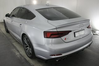 2018 Audi S5 F5 MY18 Sportback Tiptronic Quattro Florett Silver 8 Speed Sports Automatic Hatchback