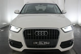 2014 Audi Q3 8U MY14 TFSI S Tronic Quattro Cortina White 7 Speed Sports Automatic Dual Clutch Wagon.