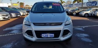 2016 Ford Kuga TF MY16 Ambiente 2WD Silver 6 Speed Sports Automatic Wagon.