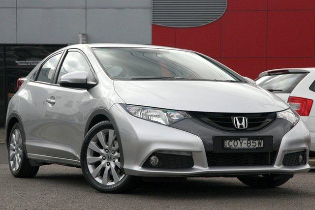 Used Honda Civic 9th Gen MY13 VTi-L, 2013 Honda Civic 9th Gen MY13 VTi-L Silver 5 Speed Sports Automatic Hatchback