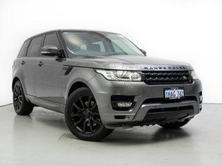 2014 Land Rover Range Rover LW Sport 3.0 TDV6 SE Grey 8 Speed Automatic Wagon.