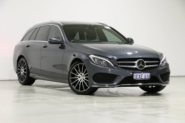 Used Mercedes-Benz C250 205 MY16 , 2015 Mercedes-Benz C250 205 MY16 Grey 7 Speed Automatic Wagon